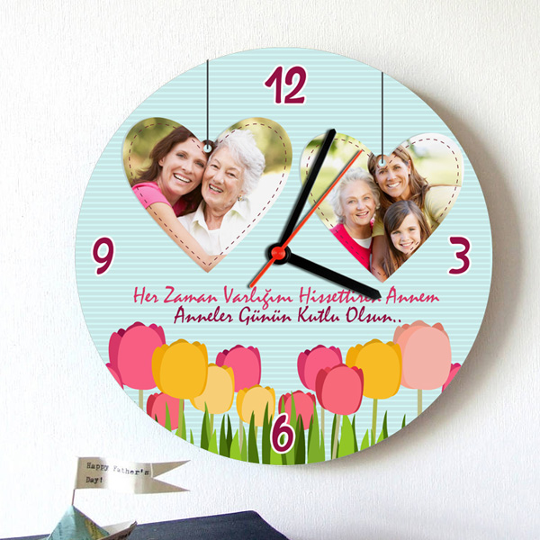 İyi Varsın Canım Annem Duvar Saati