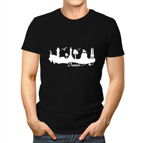 İzmir Baskılı Tişört Erkeklere Özel