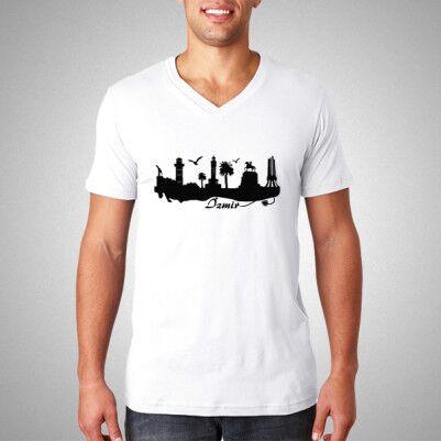 - İzmir Baskılı Tişört Erkeklere Özel