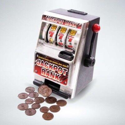 - Jackpot Bank - Slot Makinesi Şeklinde Kumbara