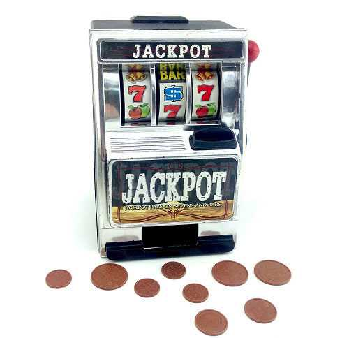 Jackpot Bank - Slot Makinesi Şeklinde Kumbara