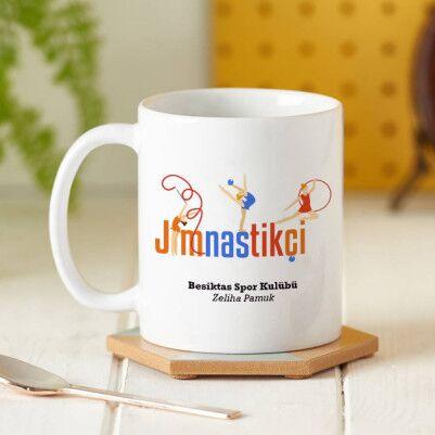 - Jimnastikçiler İçin Hediyelik Kupa Bardak