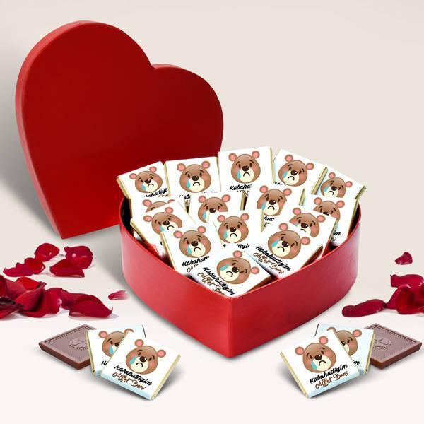 Kabahatliyim Beni Affet Çikolatası
