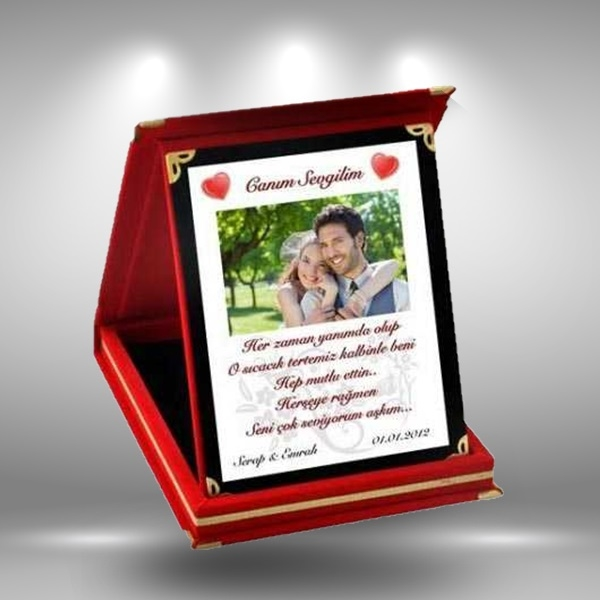 kişiye özel plaket
