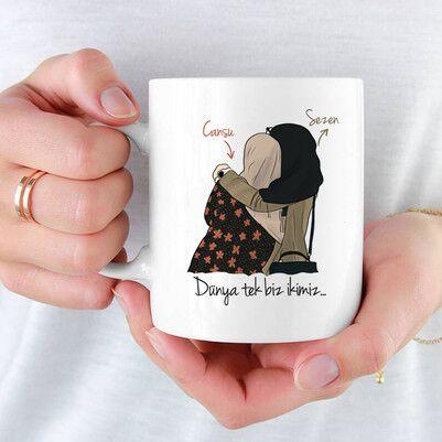 - Kadim Dostum İsimli Kız Arkadaş Bardağı