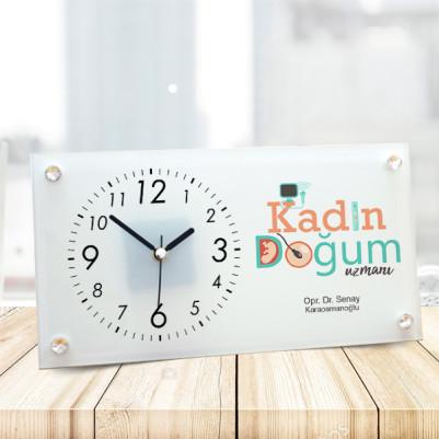 - Kadın Doğum Doktoruna Hediye Masa Saati
