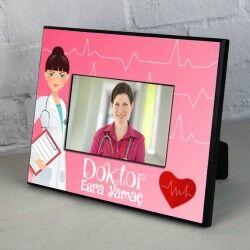 - Kadın Doktorlara Hediye Resim Çerçevesi