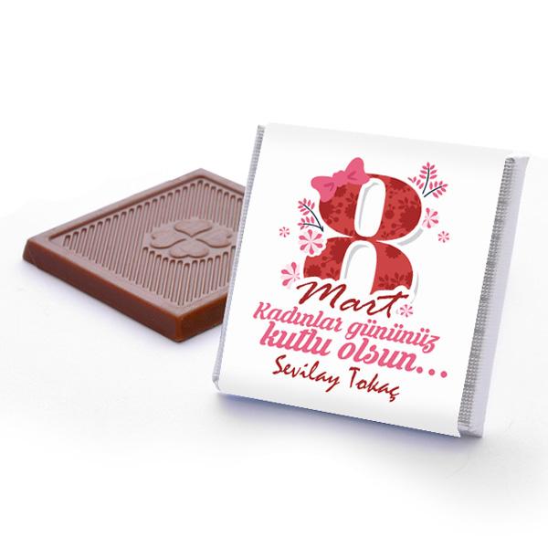 Kadınlar Gününe Özel Çikolata Kutusu