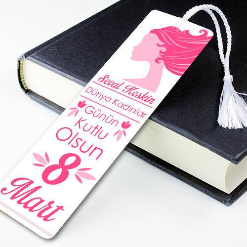 Kadınlar Gününe Özel Kitap Ayracı