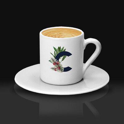 - Kadınlara Hediyelik Baş Harfli Kahve Fincanı