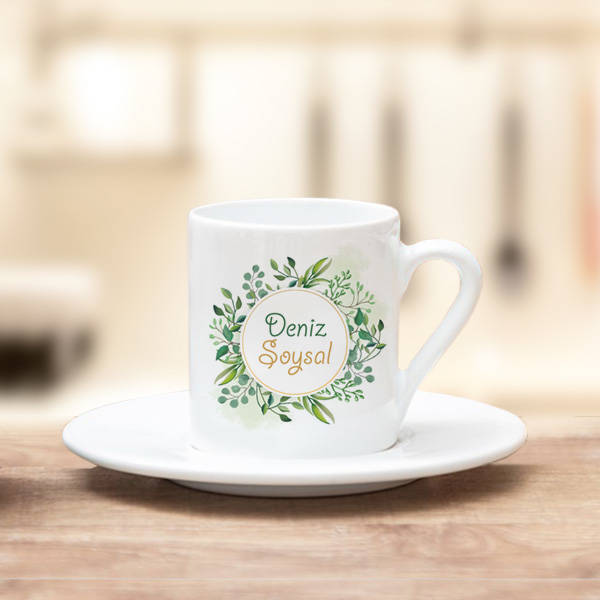 Kadınlara Özel Şık Kahve Fincanı