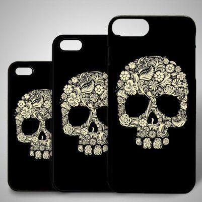 - Kafatası Temalı iPhone Telefon Kapağı