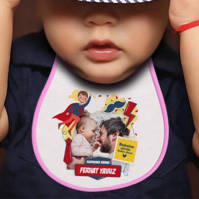 Kahraman Babam Mama Önlüğü - Thumbnail