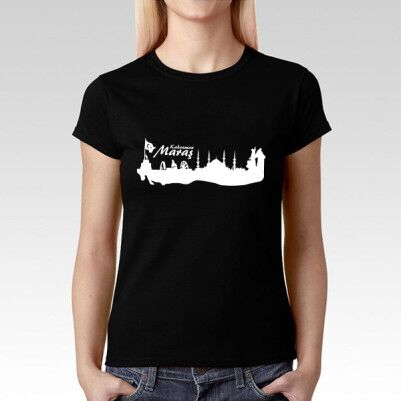 Kahramanmaraş Temalı Şehir Silueti Tişört - Thumbnail