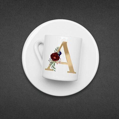Kahve Severlere Kişiye Özel Konsept Hediye Kutusu - Thumbnail