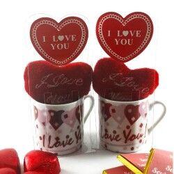 Kahve Severler İçin Aşk Dolu Hediye Sepeti - Thumbnail
