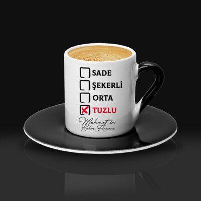 Kahveni Nasıl Alırsın Kahve Fincanı - Thumbnail