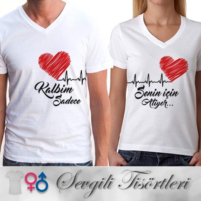 sevgililere özel tişört modelleri kapıda ödeme ile