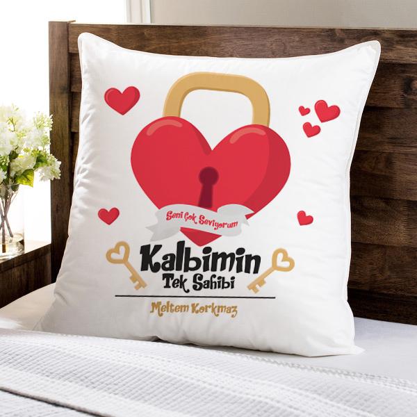 Kalbimin Tek Sahibisin Sevgili Yastığı