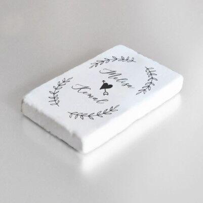 Kalp Oku İsimli Taş Buzdolabı Magneti - Thumbnail