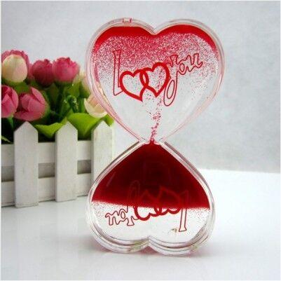 Kalp Şeklinde Aşk Kum Saati - Thumbnail