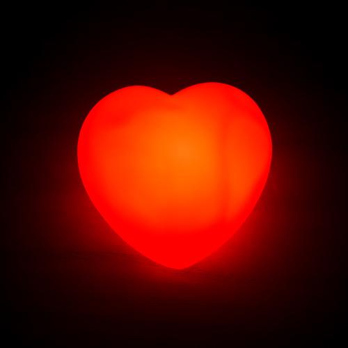 Kalp Şeklinde LED Lamba