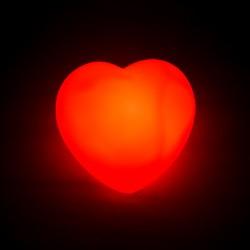 - Kalp Şeklinde LED Lamba