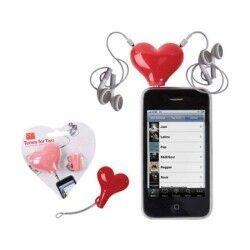 Kalp Kulaklık Ayırıcısı - Thumbnail