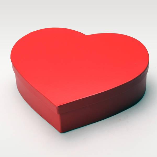 Kalp Şeklinde Kırmızı Hediye Kutuları