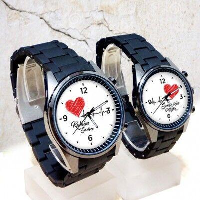 - Kalplerimiz Birlikte Atsın Sevgili Kol Saatleri