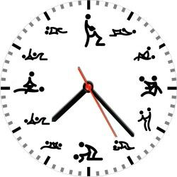Kamasutra Duvar Saati - Thumbnail