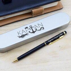 - Kaptanlara Hediye İsme Özel Kalem