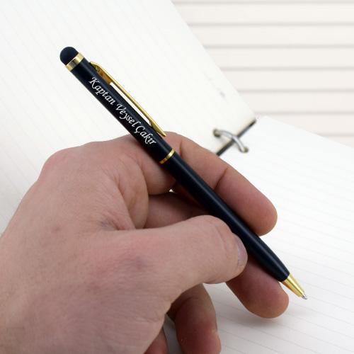 Kaptanlara Hediye İsme Özel Kalem