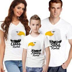 - Kara Kartal Ailesi 3'lü Tişört Seti