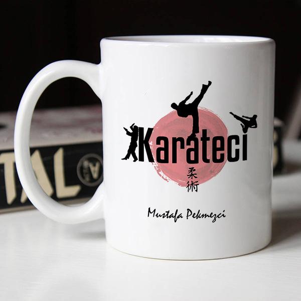 Karatecilere Özel Kupa Bardak