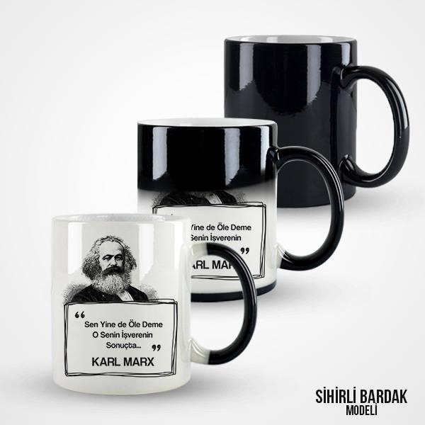 Karl Marx Esprili Kahve Kupası