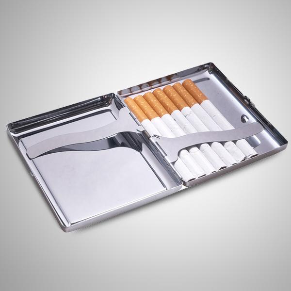 Kayı Boyu Simgeli Çakmak ve Sigara Tabakası