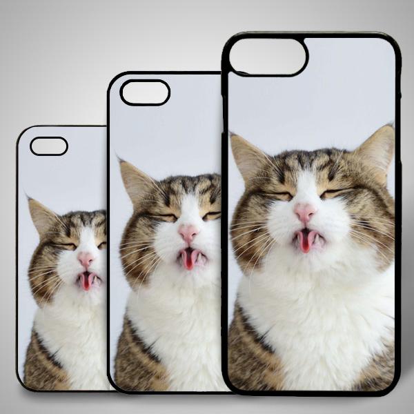 Kedi Temalı iPhone Telefon Kapağı
