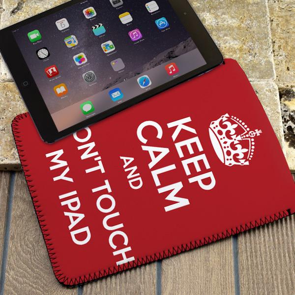 Keep Calm Esprili Tablet Kılıfı