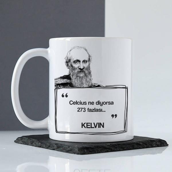 Kelvin Esprili Kahve Kupası
