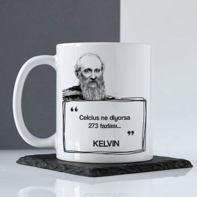 Kelvin Esprili Kahve Kupası - Thumbnail