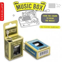 - Kikkerland Music Box - Müzik Kutusu