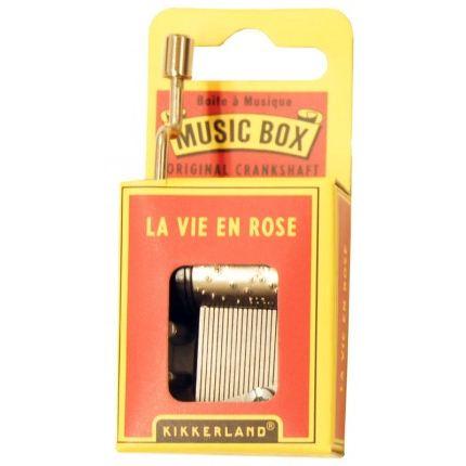 Kikkerland Music Box - Müzik Kutusu