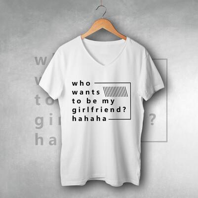 - Kim Sevgilim Olmak İster Tişört