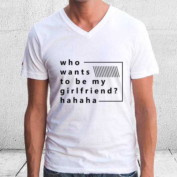 Kim Sevgilim Olmak İster Tişört