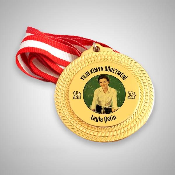Kimya Öğretmenine Hediye Madalyon