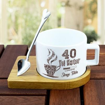 - Kırk Yıl Hatırı Vardır Kahve Fincanı