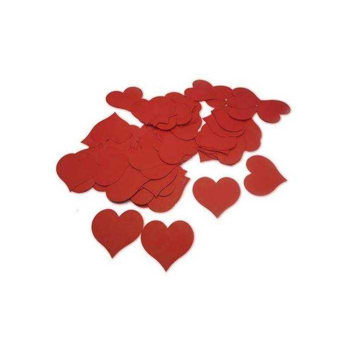 Kırmızı Kalp Mesaj Kağıtları