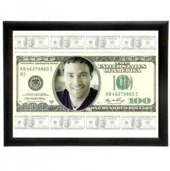 - Kişiye Özel 100 Dolar Banknot