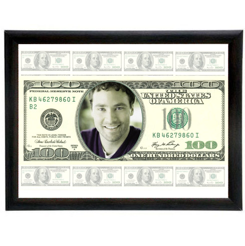 Kişiye Özel 100 Dolar Banknot